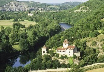 Chateau in Souillac, the South of France