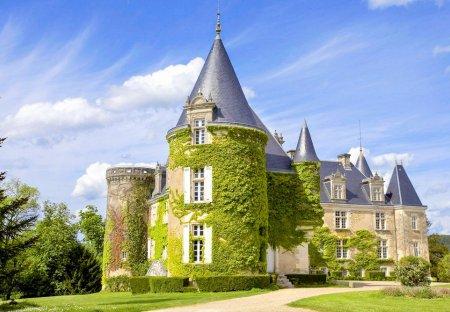 Chateau in Brantôme-en-Périgord, France