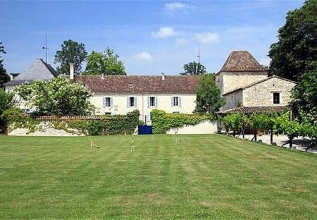 Chateau in Issigeac, France