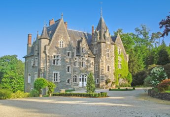 Chateau in Saint-Just, France