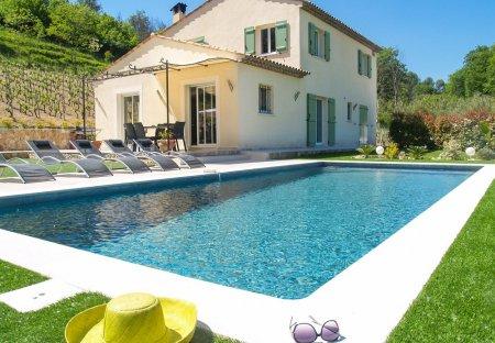 Villa in Saint-Paul-de-Vence, the South of France