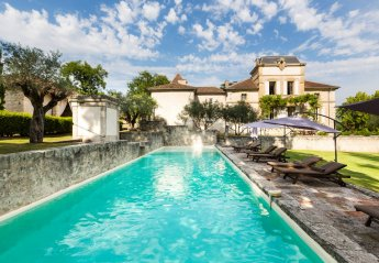 Chateau in Montjoi, the South of France