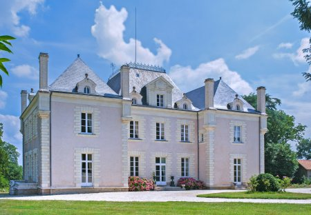 Chateau in La Haie-Fouassière, France