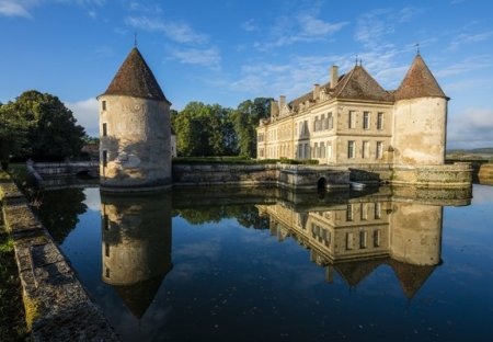 Chateau in Saulieu, France