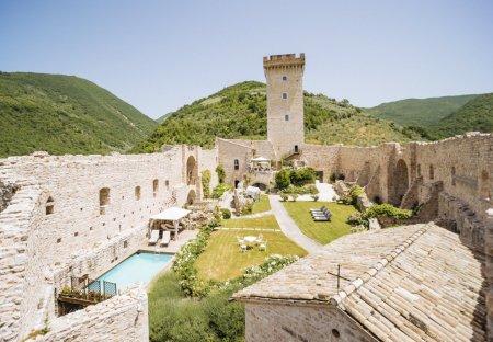 Chateau in Foligno, Italy
