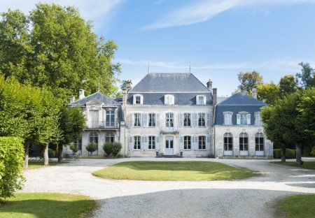 Chateau in Bar-sur-Seine, France
