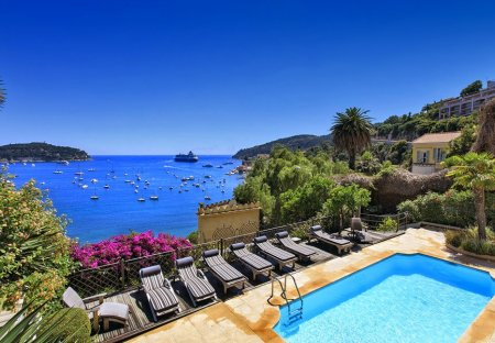 Villa in Col de Villefranche, the South of France