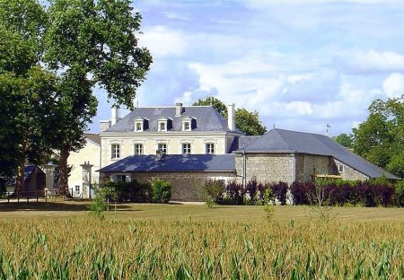 Chateau in Chaveignes, France