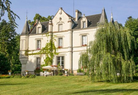 Chateau in Perrusson, France
