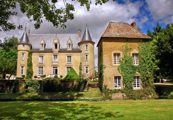 Chateau in Lombron, France