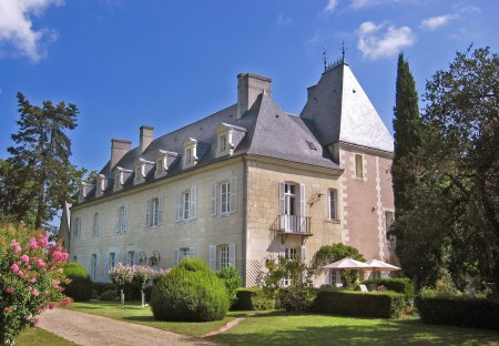 Chateau in Avoine, France