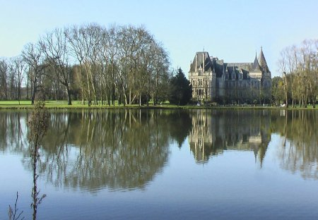 Chateau in Erdre-en-Anjou, France