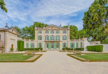 Chateau in Carpentras, the South of France