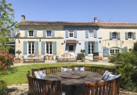 Villa in Courcerac, France