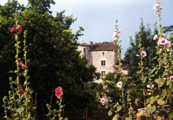 Chateau in Bagat-en-Quercy, the South of France