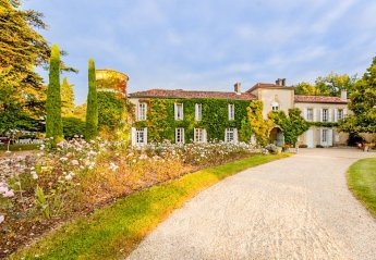 Chateau in Larressingle, the South of France