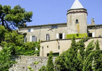 Chateau in Bouilhonnac, the South of France