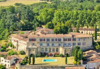 Chateau in Poudenas, France