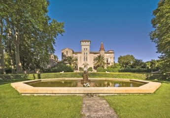 Chateau in Montagnac, the South of France: Chateau St Martin de la Guarrigue by Ciel Rouge Creatio..
