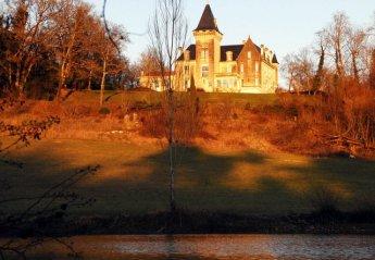 Chateau in Saint-Avit, France: bellevue