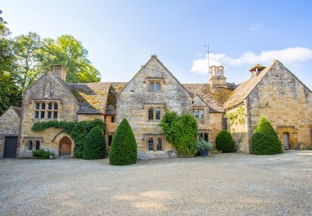 Chateau in Temple Guiting, England