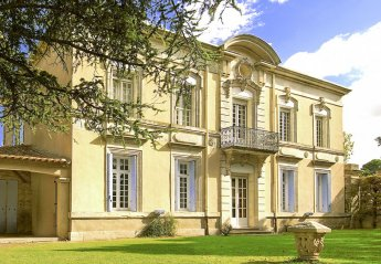 Chateau in Ginestas, the South of France