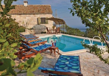 Villa in Brela, Croatia