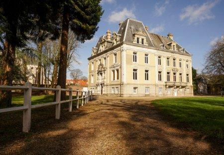 Chateau in Hallines, France
