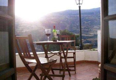 Apartment in Bubión, Spain: terrace