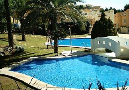 Villa in Sierra Altea, Spain: The pool