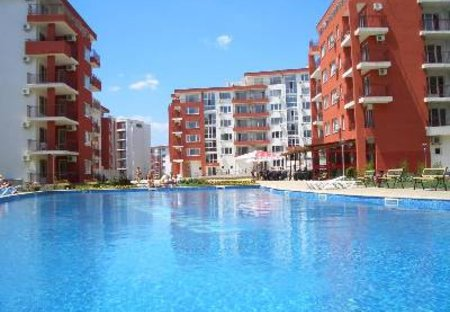 Apartment in Robinzon, Bulgaria: Panorama and Marina Freya