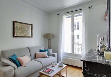 Apartment in Batignolles, Paris