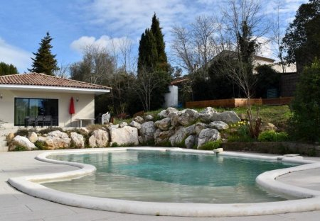 House in Guzargues, the South of France