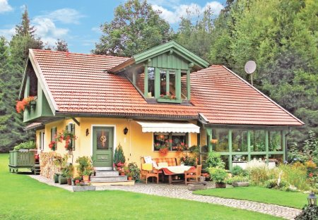 House in Bayerisch Eisenstein, Germany