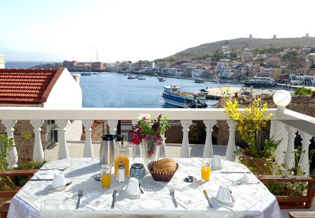 Apartment in Halki, Greece