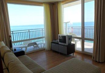 Apartment in Sveti Vlas, Bulgaria: Double aspect sea views