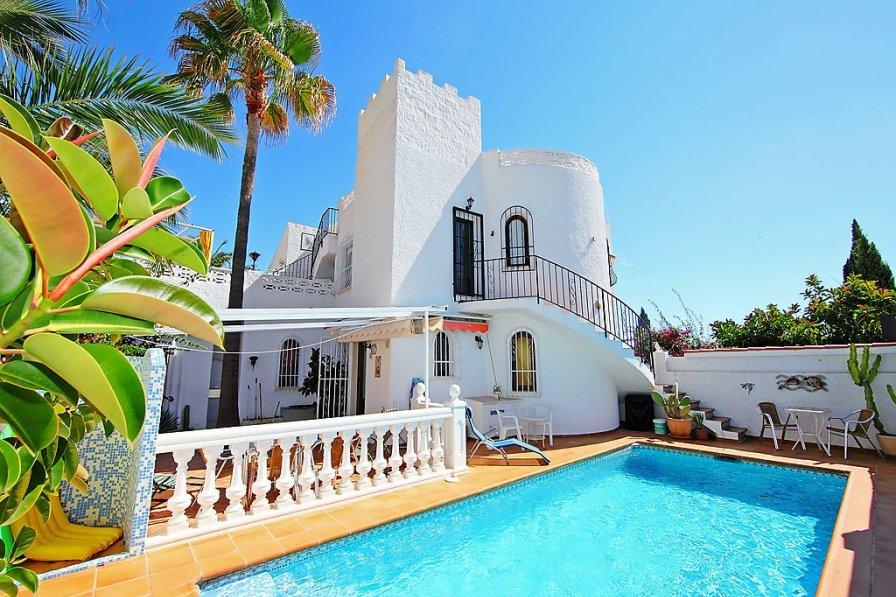 House to rent in coloma spain with private pool 241107 - La casa del barbecue brescia ...