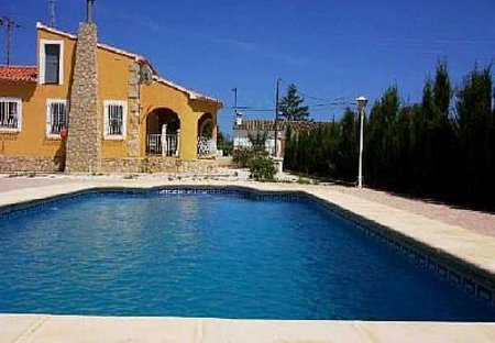 Villa in Jalon, Spain: Villa Benibrai (Jalon - Alicante)
