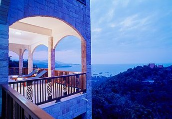 Villa in Plai Leam, Koh Samui: VIEW FROM 2ND FLOOR