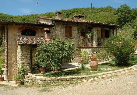 House in Ortignano Raggiolo, Italy
