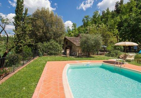 House in Volterra, Italy