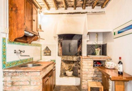 House in Valacchio, Italy
