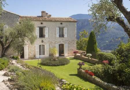 Chateau in Le Broc, the South of France
