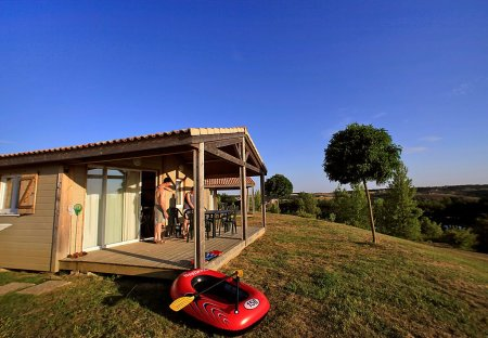 House in Monclar-de-Quercy, the South of France