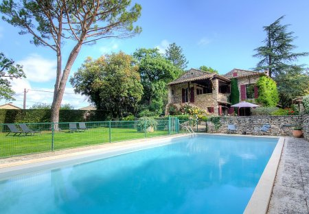 House in Ménerbes, the South of France