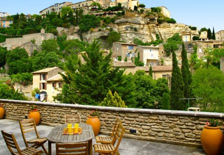House in Gordes, the South of France