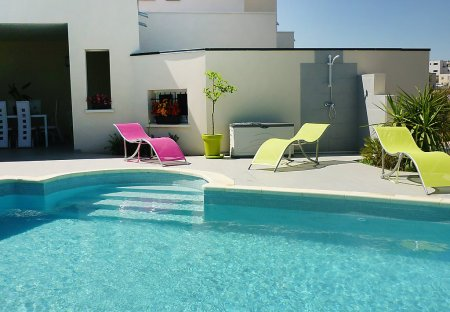 House in Le Golf-Mont Saint-Loup, the South of France