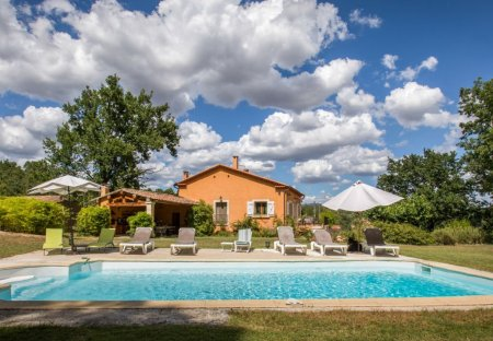 House in Roussillon, the South of France