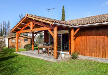 House in Mestras, France