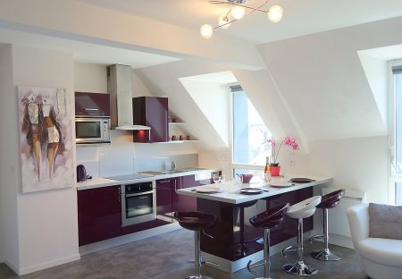 Apartment in La Gare-Marville, France